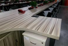 方圆现代钢木办公桌BJ005