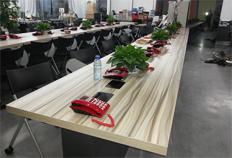 方圆现代钢木办公桌BJ004