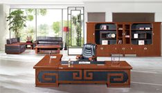 陕西办公家具  方圆家具  油漆班台