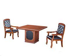 西安办公家具 方圆家具 油漆洽谈桌 FY31002