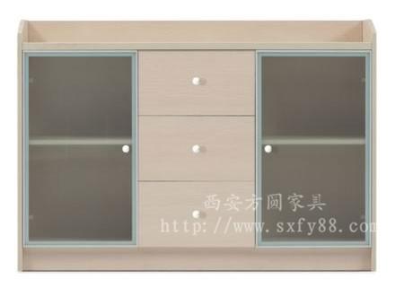 胶板茶水柜FY19006
