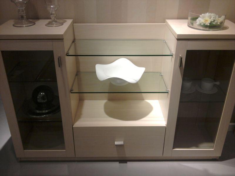 胶板茶水柜FY19011