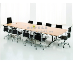 胶板会议桌FY10017